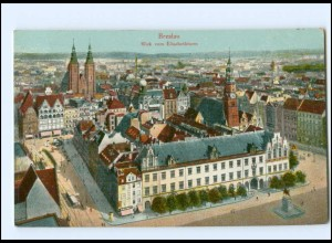 Y16869/ Schlesien Breslau Blick vom Elisabethturm AK
