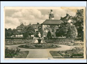 V473/ Swinemünde Rosengarten Pommern Foto AK 1939