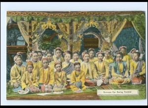 V531/ Burma Burmese Ear Boring Festival AK a.1912