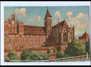 V483/ Die Marienburg Tuck`s Postkarte AK Westpreußen ca.1912