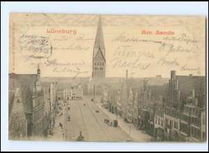 Y16915/ Lüneburg Am Sande 1900 AK
