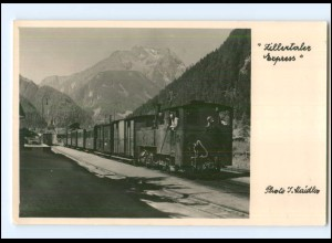 Y17033/ Zillertalexpreß Eisenbahn Foto AK 1960 Tirol