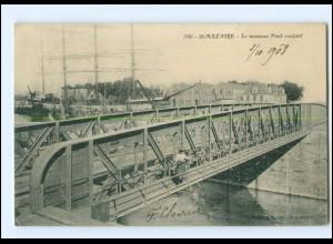 Y17046/ St. Nazaire Le nouveau Pont roulant. Brücke 1908 Frankreich