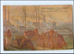 V466/ Donnersmarckhütte bei Hindenburg Schlesien AK