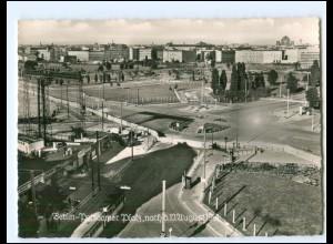 V584/ Berlin Zonengrenze Mauer DDR Potsdamer Platz 1961