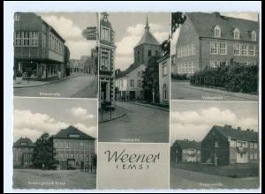 V508-2952/ Weener Friesenstr. Puddingfabrik Polak, Neuestr. AK ca.1965