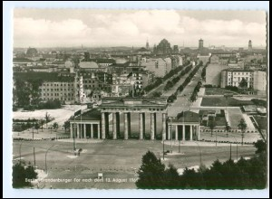 Y17085/ Berlin Brandenburger Tor Zonengrenze AK 1961