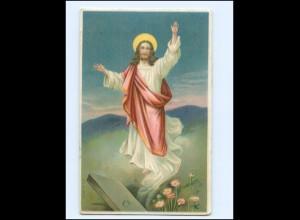 Y17243/ Religion Jesus Litho Präge AK 1912