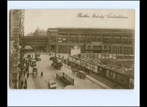 Y17314/ Berlin Bahnhof Friedrichstraße Foto AK 1930