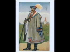 Y17175/ Alfölder Schäfer im Festgewande AK 1912 Ungarn