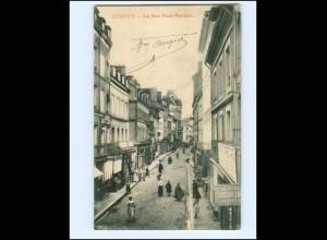 Y17174/ Lisieux La Rue Pont-Mortain AK 1906 Frankreich