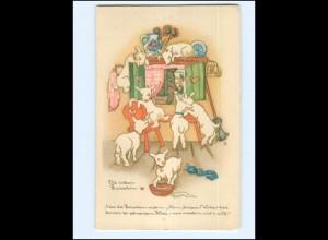 Y17188/ Liesel Lauterborn AK Märchen Die sieben Raben 1938