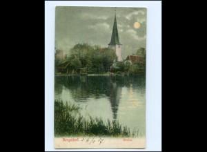 Y17149/ Hamburg Bergedorf Kirche 1907 AK
