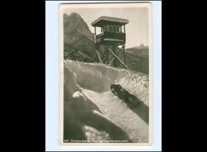 Y17207/ Olympia Bobbahn bei Garmisch -Partenkirchen Foto AK ca.1955