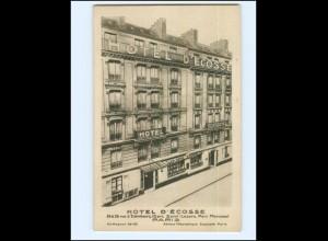 Y17206/ Paris Hotel d`Ecosse Rue de Edimbourg AK 1929
