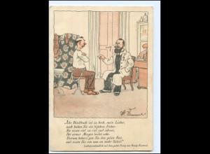 Y17244/ Essig-Essenz Reklame AK Arzt, Doktor ca.1930