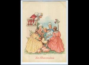 Y17091/ Märchen Der Schweinehirt - Künstler AK G. Scheufler ca. 1955