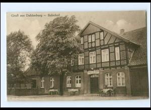 XX10417-2121/ Dahlenburg Gasthaus zum Bahnhof AK ca.1930