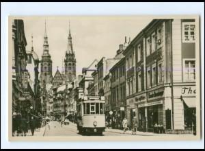 XX10462/ Liegnitz Goldbergstr. Straßenbahn Foto AK ca.1935 Schlesien