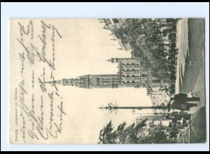 XX10958/ Danzig Langemarkt AK 1915