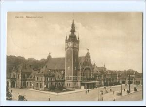 XX10991/ Danzig Hauptbahnhof AK 1915