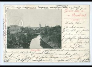 XX10498/ Osnabrück Hasepartie 1898 AK