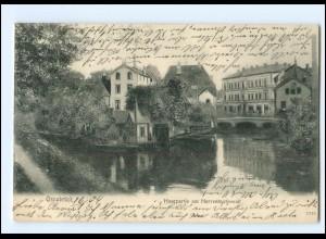 XX10495/ Osnabrück Hasepartie am Herrenteichswall 1904 AK
