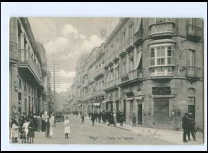 XX10943/ Vigo Calle del Principe Spanien AK 1907