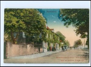 XX10947/ Saarbrücken alte deutsch-französ. Grenze AK ca.1912