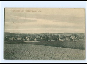 XX10577-4901/ Hiddenhausen Totalansicht 1917 AK
