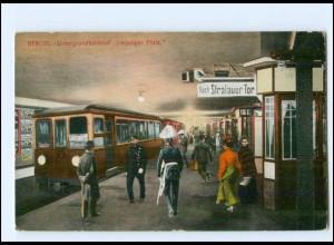 XX10557/ Berlin U-Bahnhof Leipziger Platz 1913 AK