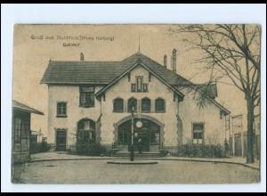 XX13607/ Buchholz Krs. Harburg Bahnhof AK 1920