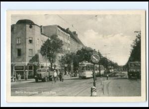 XX10704/ Berlin Weissensee Anton Platz Straßenbahn AK