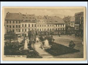 XX10588/ Schlesien Waldenburg Ring AK
