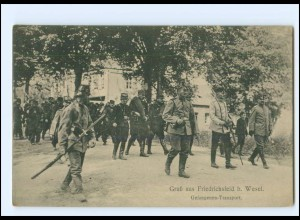 XX10907/ Friedrichsfeld b. Wesel Kriegsgefangenen-Lager AK ca.195
