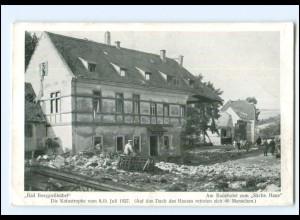 XX11060/ Bad Berggießhübel Katastrophe 8./9 Juli 1927 AK Am Badehotel