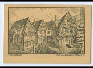 XX11040/ Rendsburg Hof vom Altstädter Markt AK ca.1920