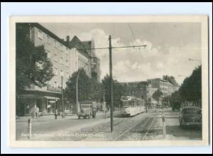 XX10698/ Berlin Weissensee Klement-Gottwald-Allee Straßenbahn AK
