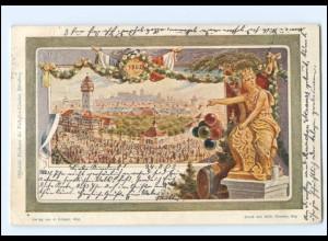 XX11067/ Privatganzsache Nürnberg Volksfest 1902 PP15C41a