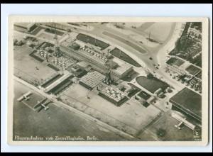 XX10545/ Berlin Fliegeraufnahme vom Zentralflughafen 1931 Foto AK