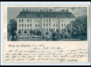 XX10544/ Berlin Köpenick Lehrer-Seminar 1900 AK