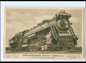 XX14704/ Lokomotive Canadian National Railways Eisenbahn Kanada AK
