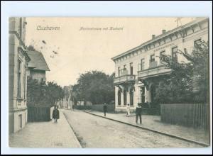 XX10483/ Cuxhaven Marienstraße mit Kurhotel 1908 AK