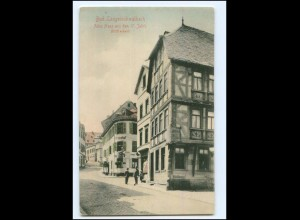 XX10736-6208/ Bad Langenschwalbach Altes Haus AK 1905