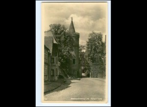 XX10762/ Neubrandenburg Fangel-Turm Foto AK ca.1935