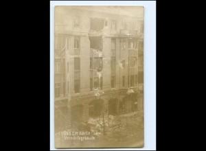 XX10770/ Berlin Revolution Vorwärtsgebäude Buchdruckerei Foto AK 1919