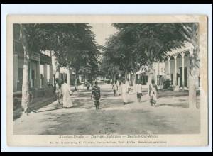 XX14703/ Dar-s-Salaam Deutsch-Ost-Afrika Akazien-Straße AK Kolonien