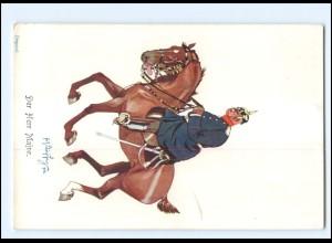 XX11104/ Schönpflug AK Militär, Der Herr Major Pferde 1904