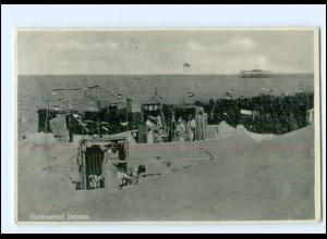 XX10772/ Cuxhaven Duhnen Sandburgen AK 1933