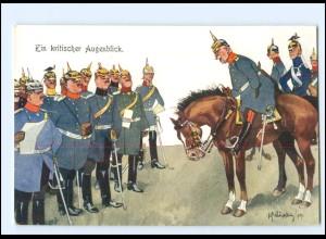 XX11088/ Schönpflug AK Militär Soldat zu Pferde Offiziere 1909